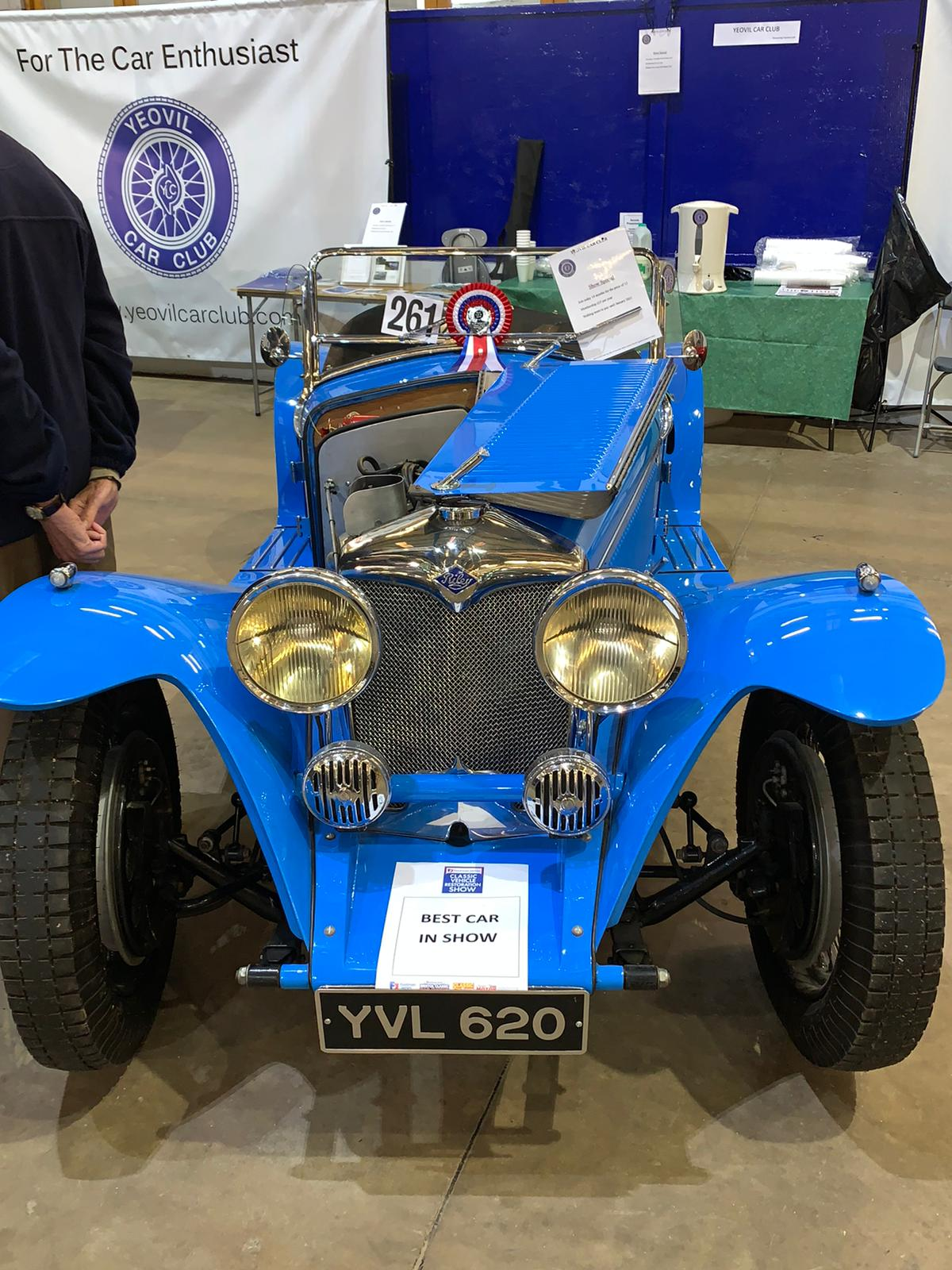 Best In Show - 1936 Blue Riley