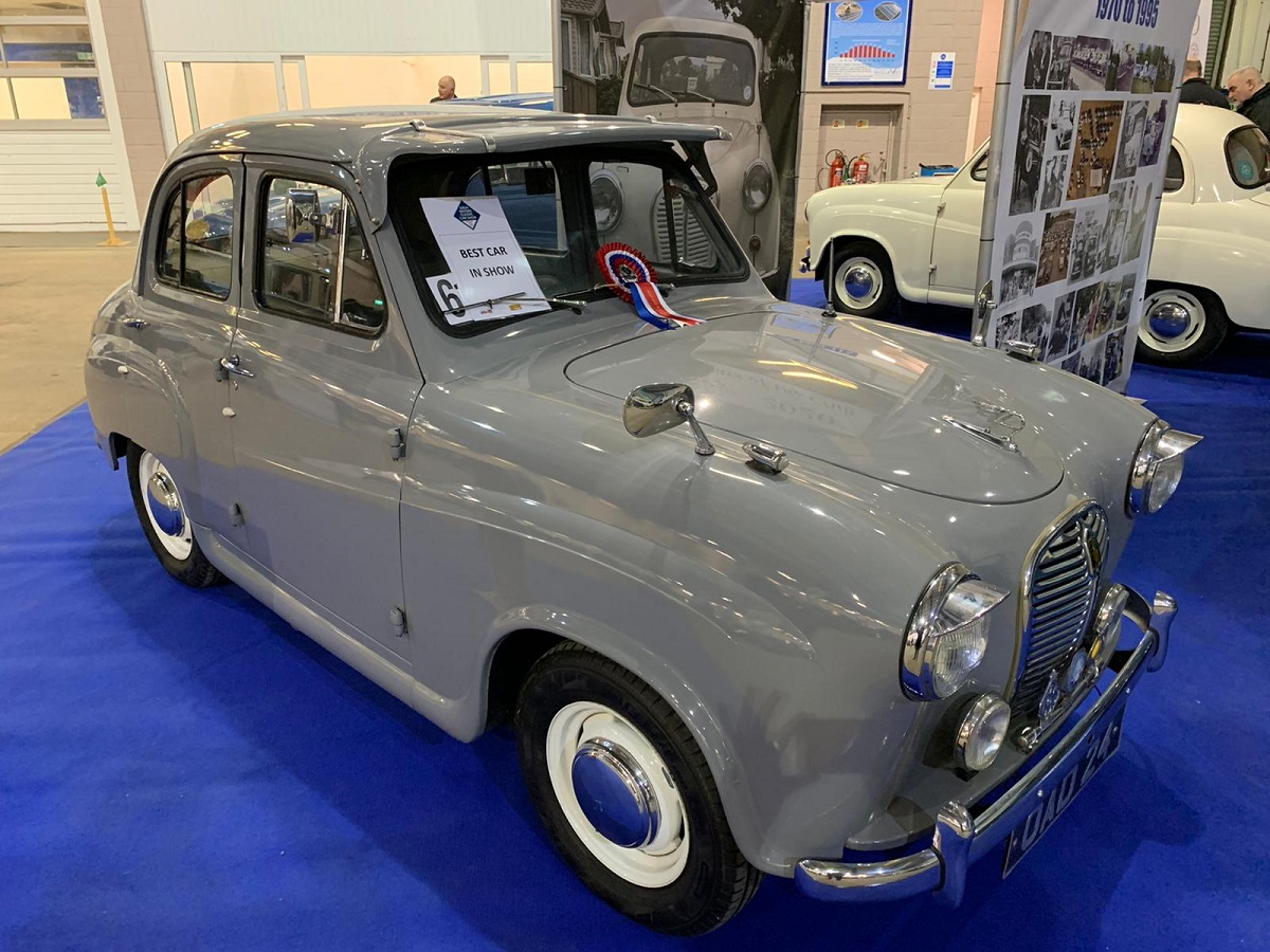 Best Car in Show - 1954 Austin A4S4 A30 Seven