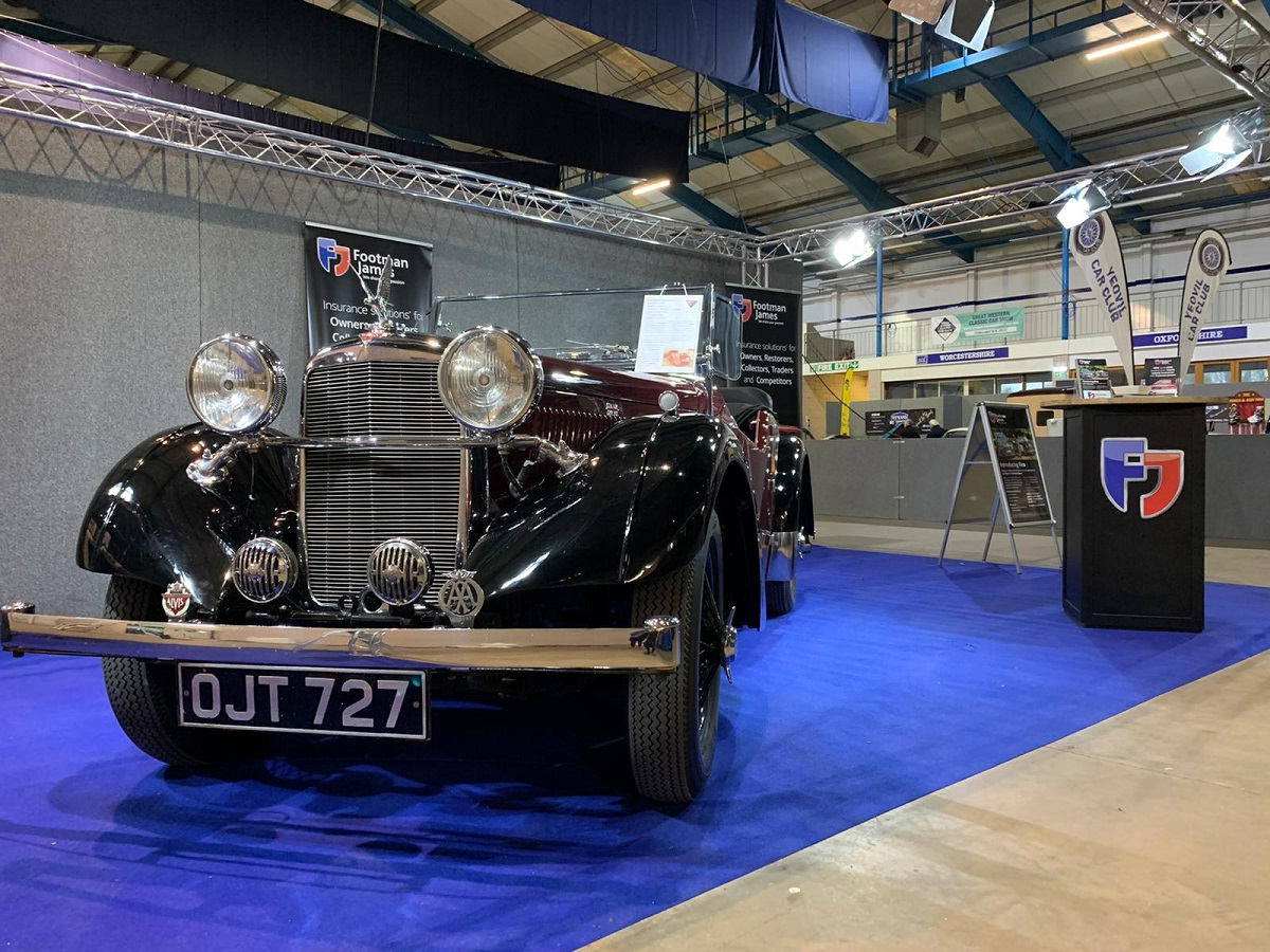 Best In Show Runner Up - 1938 Alvis 12/70 Anderson Tourer