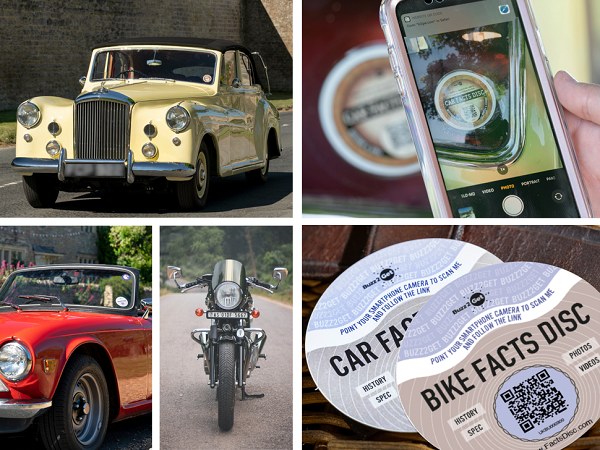 Classic Bike, Cars and Tax discs
